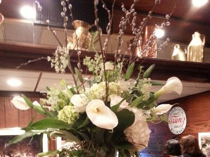 Tmx 1424805495147 Swan Club With Long Stem Callas Hydrangeas And Cas Westbury, New York wedding florist
