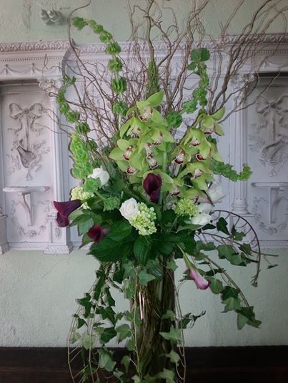 Tmx 1424805535854 Green Hydrangea And Burgundy Callas Westbury, New York wedding florist