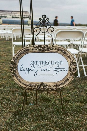 happy ever after sign