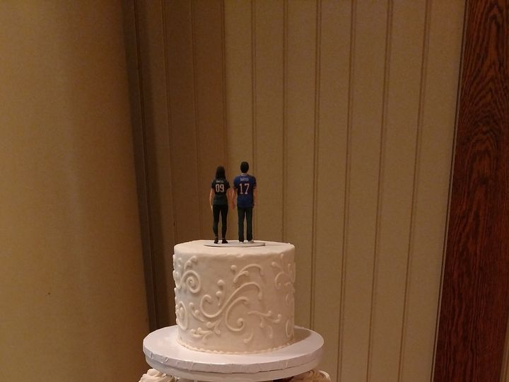 Tmx 1481135326833 Img20160917131746144 Rochester wedding cake