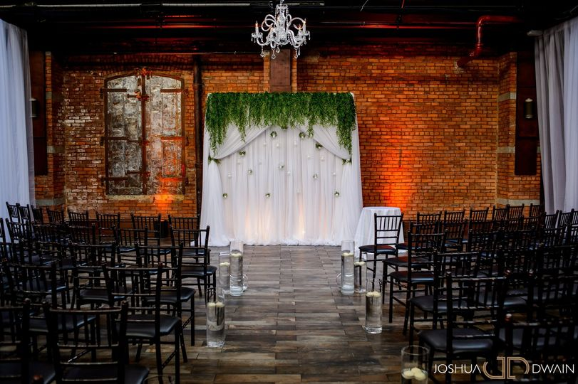 Indoor wedding space