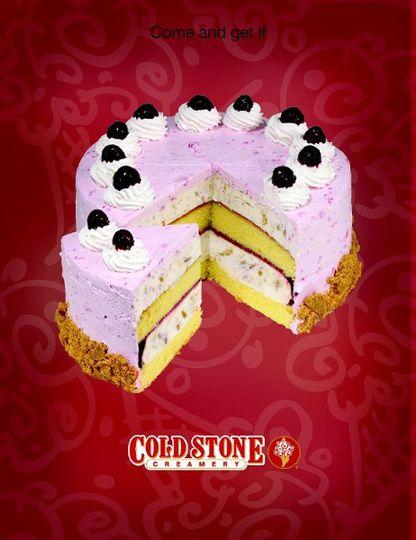 A Cheesecake Named Desire - Moist Yellow Cake, Cheesecake Ice Cream & Graham Cracker Pie Crust, & a...
