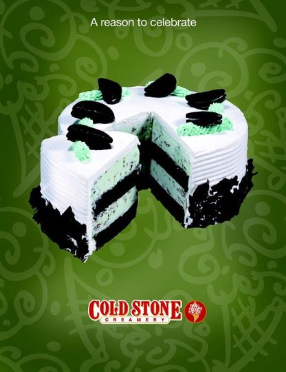 MMMint Chip - Moist Devils Food Cake, Mint Ice Cream, & Chocolate Shavings wrapped in a fluffy white...