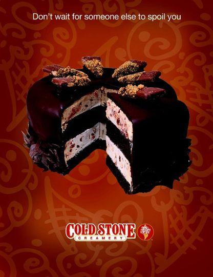 Coffeehouse Crunch - Moist Devils Food Cake, Coffee Ice Cream, & Heath Bar wrapped in a rich fudge...