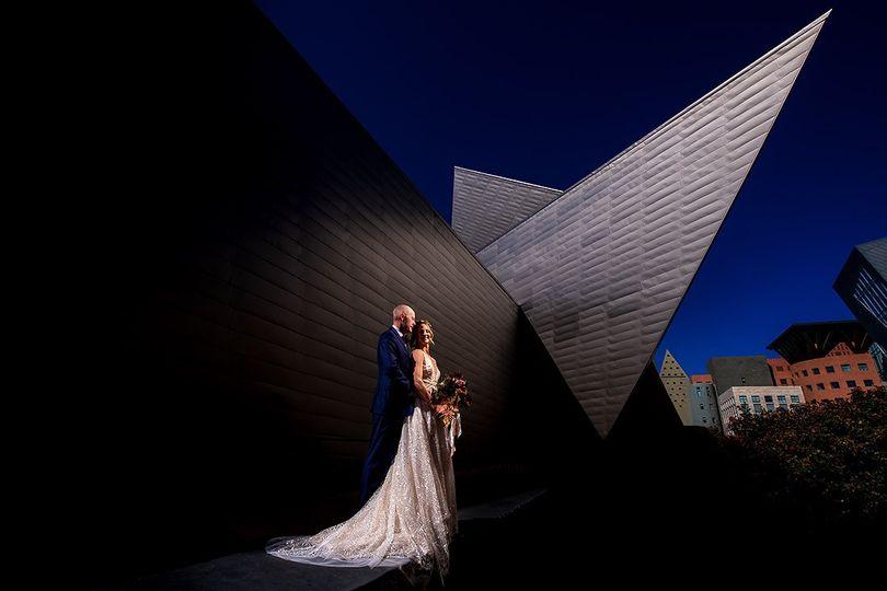 Denver Art Museum Wedding