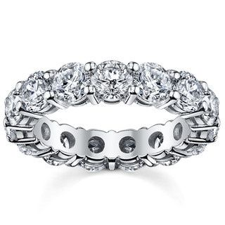 Tmx 1429825638109 14k White Gold 5ct Tdw Diamond Eternity Wedding Ba Fairfield wedding jewelry