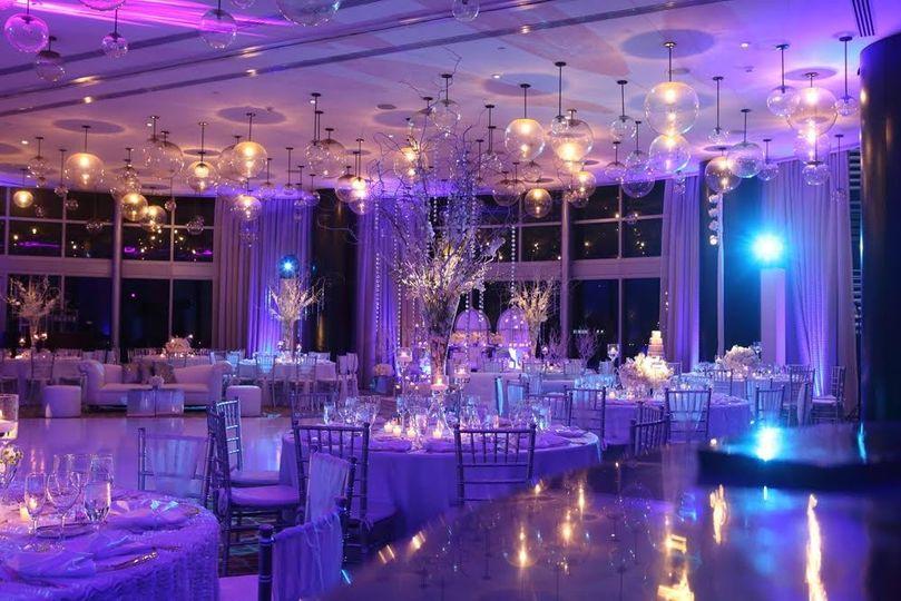 Violet lighting