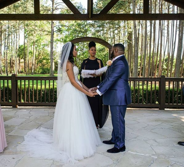 Brittney & raymond wedding vows