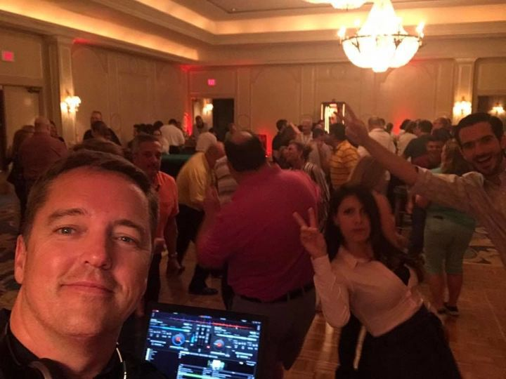 DJ at the event