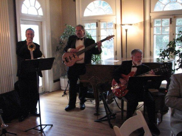 The Jass Arts Ensemble play a wedding reception at the Grant Humphreys Mansion in Denver, Colorado