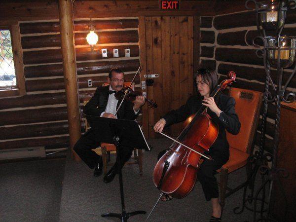 The string suo plays at Cuchara chapel.