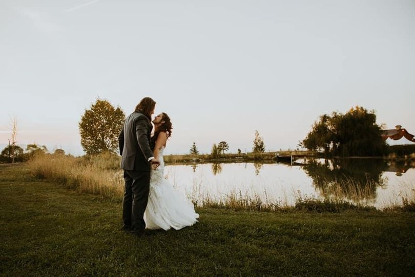 Love by the pond
