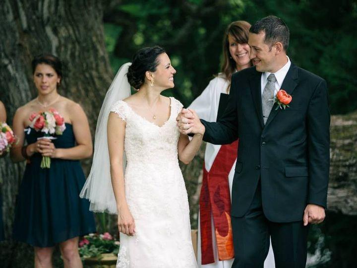 Tmx 1431897567428 Melly With Bridal Couple Richmond, Virginia wedding officiant