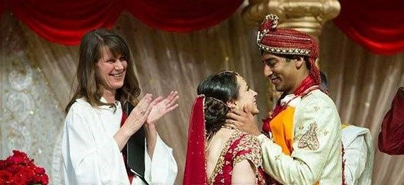 Tmx 1431897570472 Melly With Indian Couple Crppoed Richmond, Virginia wedding officiant