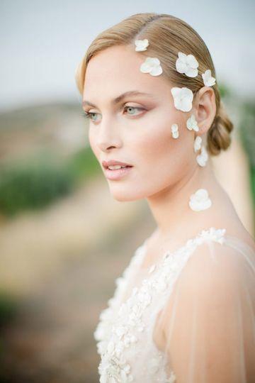 Beauty bridal portrait