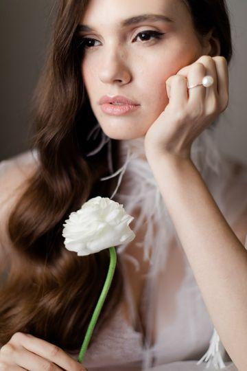 Boudoir bridal photography