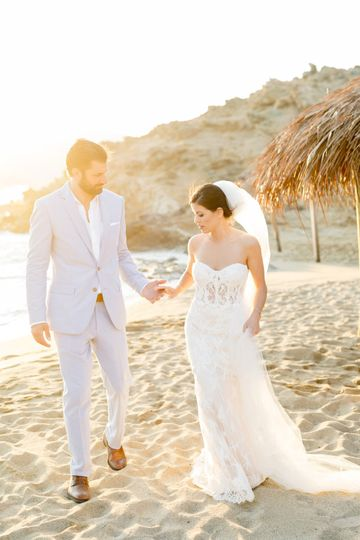 Wedding in Mykonos Alemagou