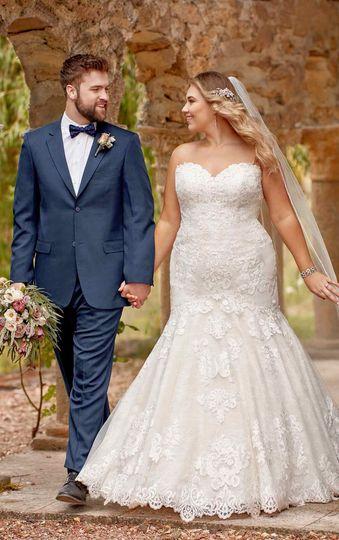 Newlyweds looking fantastic