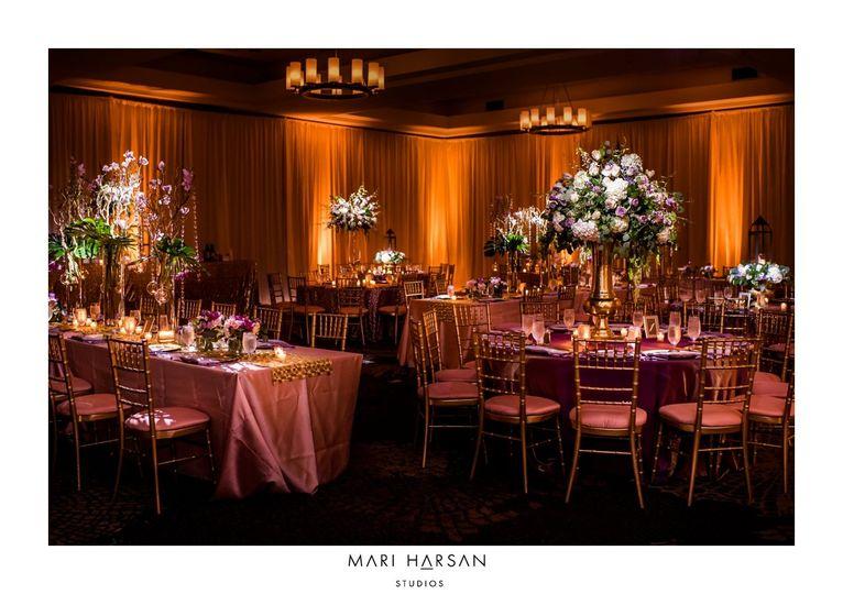Wedding reception in Crossland
