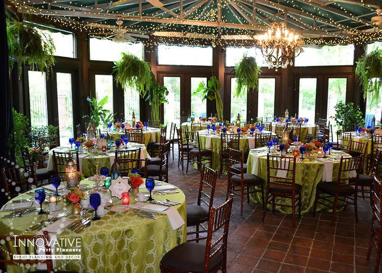 Wedding reception, Gramercy Mansion