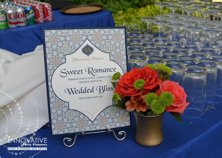 Signature Drink, gardens at Gramercy Mansion