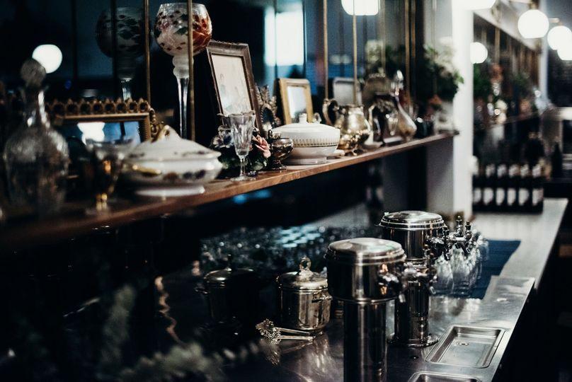 Unique, elegant decor with vintage touches throughout.Photo: Davis Hilton
