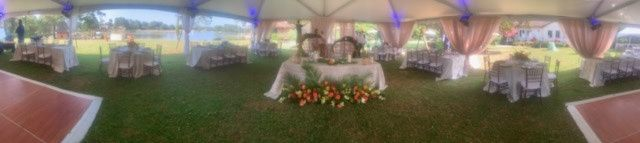 Pano-View of a Tent