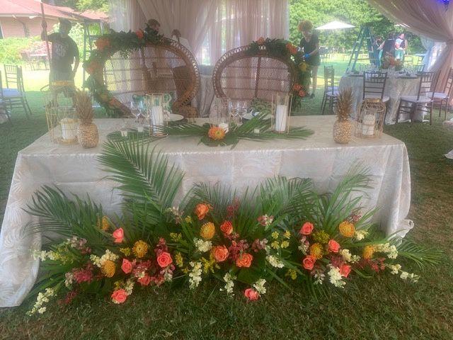 Tiki Sweetheart Table