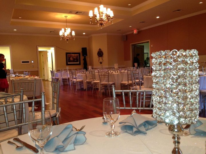 Here is an example of wedding reception at Naples Performing Arts Center.  Elegant and extremely...