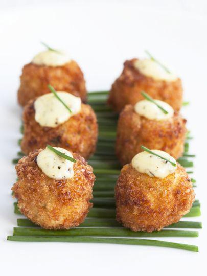 Potato croquette w truffle