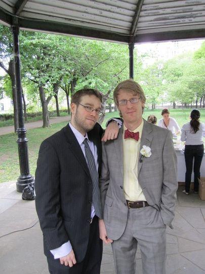 Wedding in NYC park