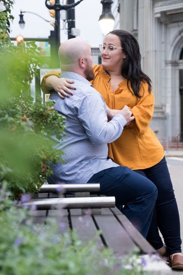 Downtown Buffalo engagement