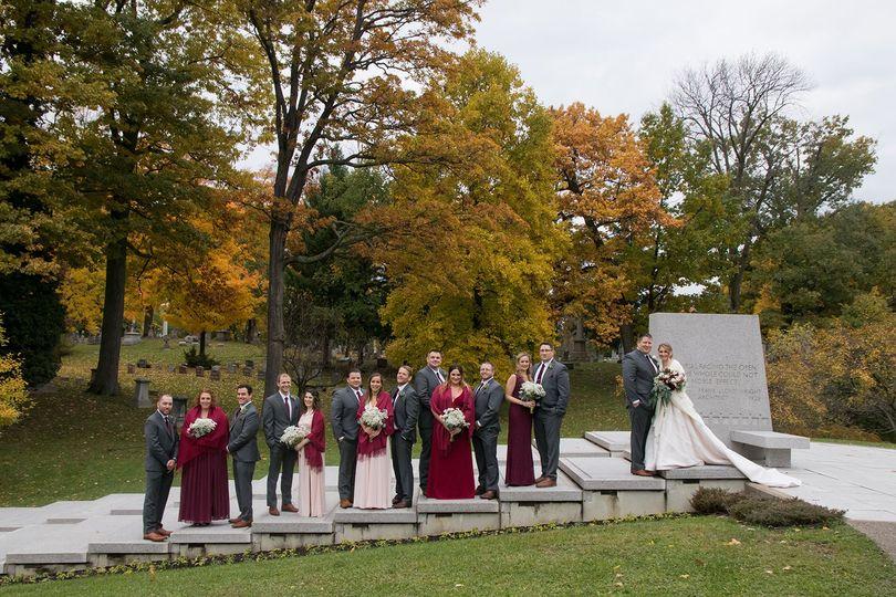 Forest Lawn Wedding Party