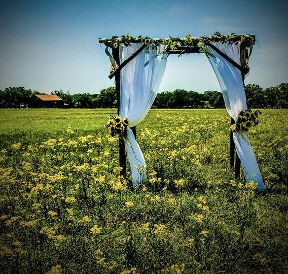 Field wedding option