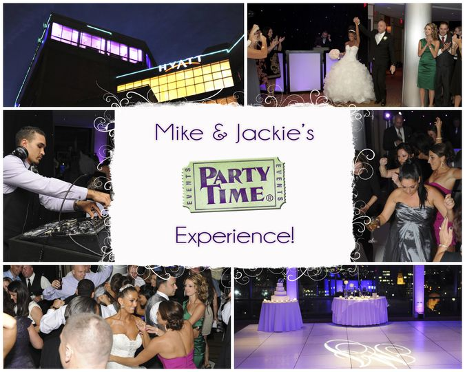 mike jackies wedding collage by party time entert