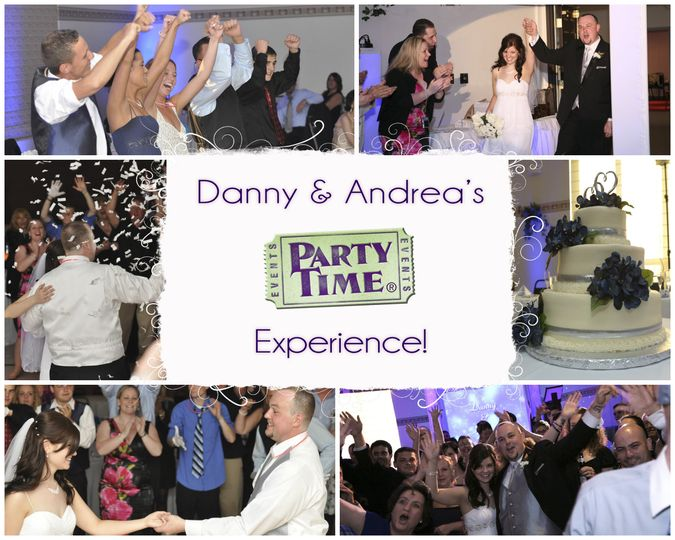 danny andreas wedding collage by party time enter