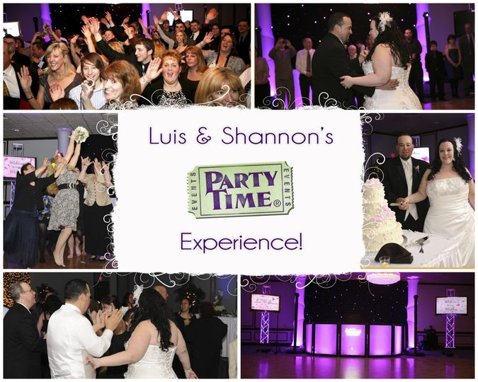 luis shannons wedding collage by party time enter