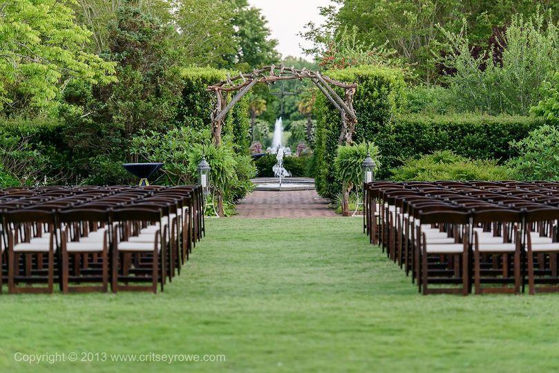 Daniel Stowe Botanical Garden Venue Belmont Nc Weddingwire