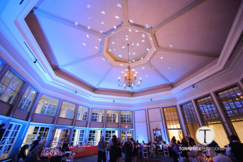 Reception with a dome