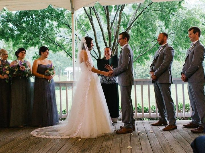 Tmx 1507570425663 20248456101020183489094143294050115759189592o 1 Charlottesville, Virginia wedding officiant