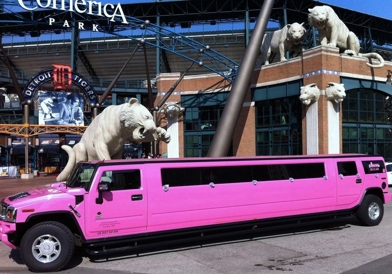 hummer ext at comerica park