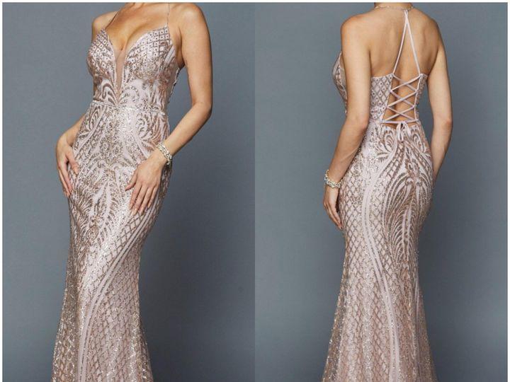 Tmx J681 Rose 51 476920 Winter Garden wedding dress
