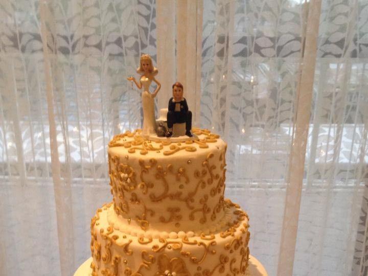 Tmx 1424188723643 Wedding Cake 2 Palm Harbor, Florida wedding cake