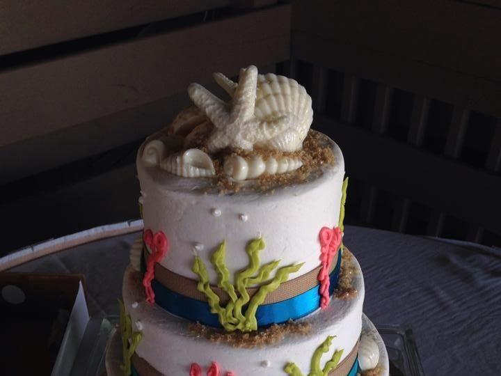 Tmx 1424188727080 Wedding Cake 3 Palm Harbor, Florida wedding cake