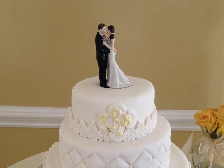 Tmx 1424188730715 Wedding Cake 4 Palm Harbor, Florida wedding cake