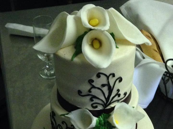 Tmx 1424188745835 Wedding Cake 8 Palm Harbor, Florida wedding cake