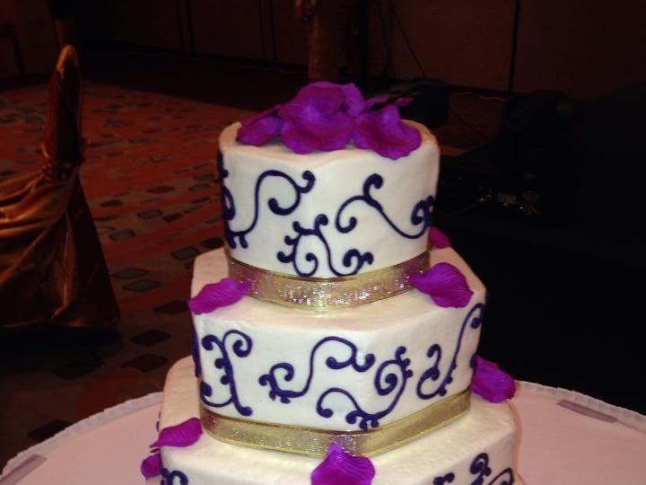 Tmx 1424188761134 Wedding Cake 13 Palm Harbor, Florida wedding cake