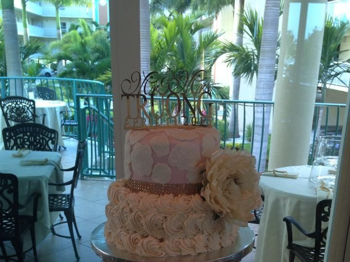 Tmx 1436101477059 11015126101529278060817483100925826369779821n Palm Harbor, Florida wedding cake