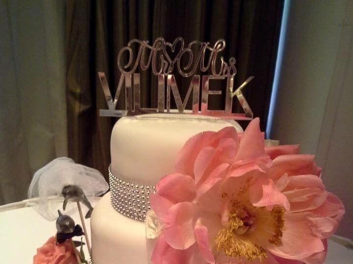 Tmx 1436101489566 11102773101527575650056534358842660166971609n Palm Harbor, Florida wedding cake