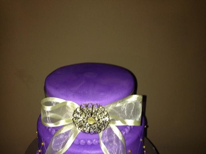 Tmx 1436101507910 1119331910152974013866748564772657811826136n Palm Harbor, Florida wedding cake